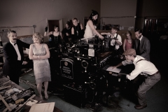 "CMA - 2010 ""Hot Off the Press"" 1920s Staff Photoshoot"