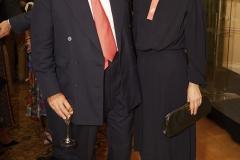 Nicholas Coleridge CBE (Conde Nast Publications) & Justine Simons MBE (Mayor of London) (Shaun James Cox, British Fashion Council)