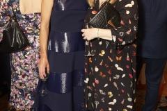 Samantha Cameron & Sarah Burton OBE (Alexander McQueen) (Shaun James Cox, British Fashion Council)